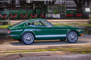 1973 The Perfect 240z - Racing Green Datsun 240z.