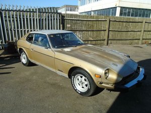 1978 DATSUN 280Z AUTO COUPE () GOLD! SOLID CAR PROJECT