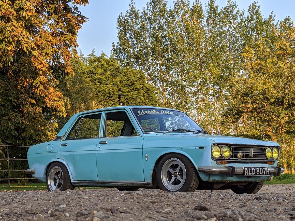 1970 Datsun 510 Bluebird - Genuine UK car For Sale (picture 1 of 3)