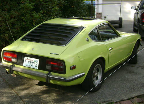 1973 Datsun 240Z - Rebuilt, Weber-Carbed Engine Solid Car For Sale (picture 3 of 6)