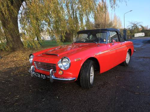 1966 Datsun 1600 Fairlady Roadster For Sale (picture 1 of 6)