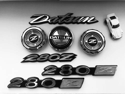 1974 datsun 280z new emblems For Sale (picture 5 of 6)