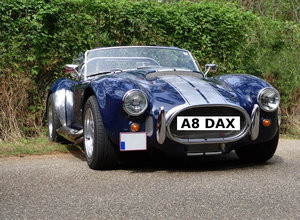 Number Plate: A8 DAX (Car Not Included)