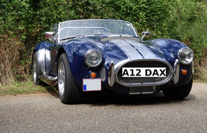 Number Plate: A12 DAX