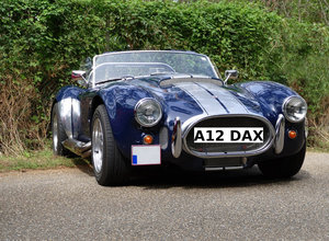 Number Plate A12 DAX (Car Not Included)