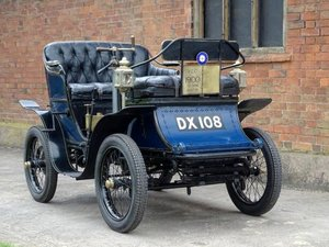 1901 De Dion Bouton Type G For Sale by Auction