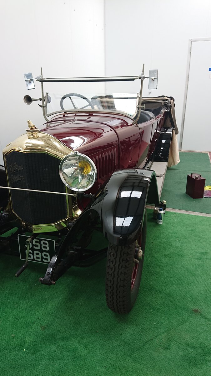 1925 De Dion Bouton IW Torpedo bodied tourer Vintage For Sale (picture 1 of 6)