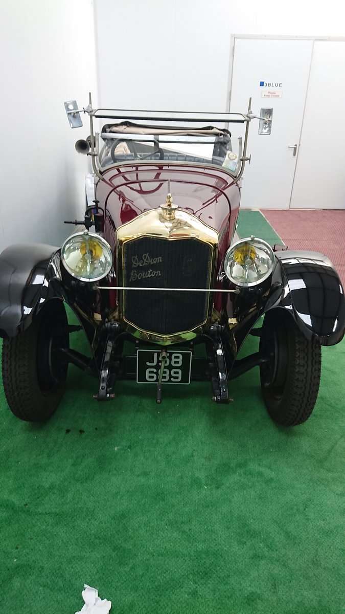 1925 De Dion Bouton IW Torpedo bodied tourer Vintage For Sale (picture 5 of 6)