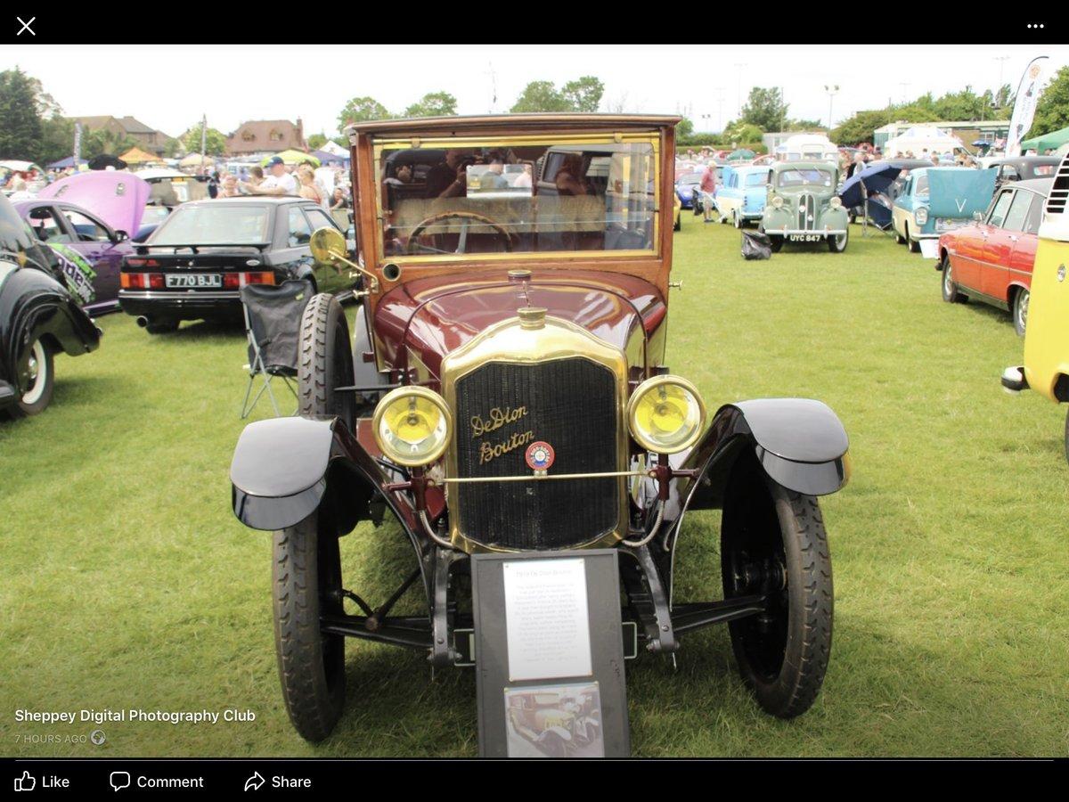1921 De Dion Bouton Paris Town car SOLD (picture 1 of 6)