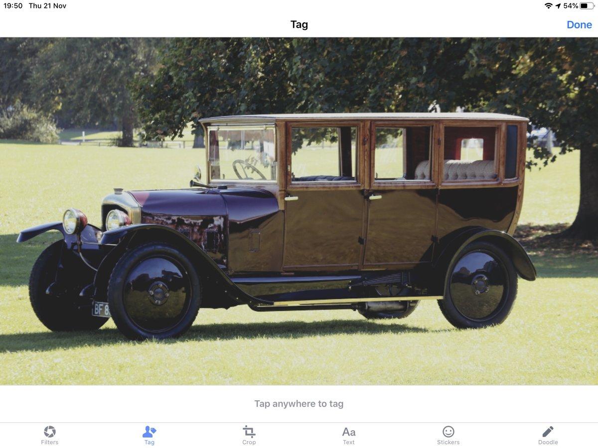 1921 De Dion Bouton Paris Town car SOLD (picture 2 of 6)