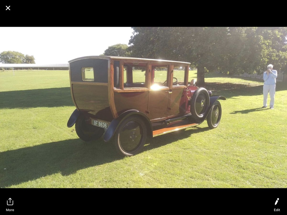 1921 De Dion Bouton Paris Town car SOLD (picture 5 of 6)
