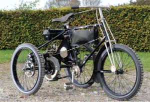 Picture of 1899 De Dion Bouton Tricycle