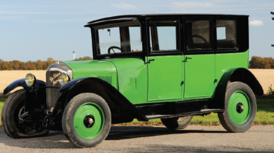 Picture of 1922 De Dion Bouton Saloon