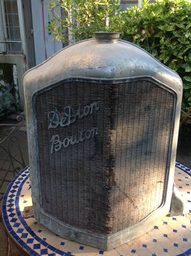 Signed Radiator and parts for De Dion Bouton Car For Sale (picture 1 of 6)