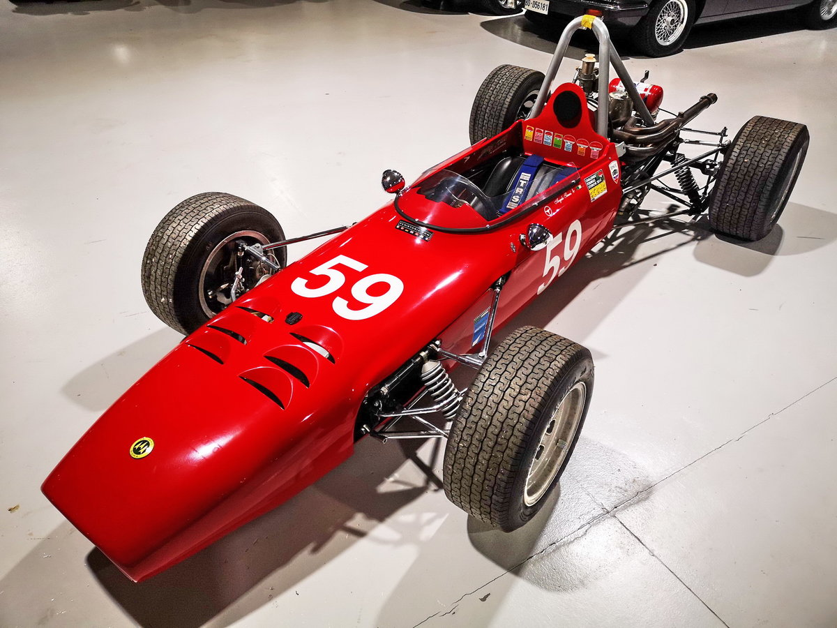 1968 DE SANCTIS FORMULA 3 chassis n. 001 euro 69800 For Sale (picture 2 of 6)