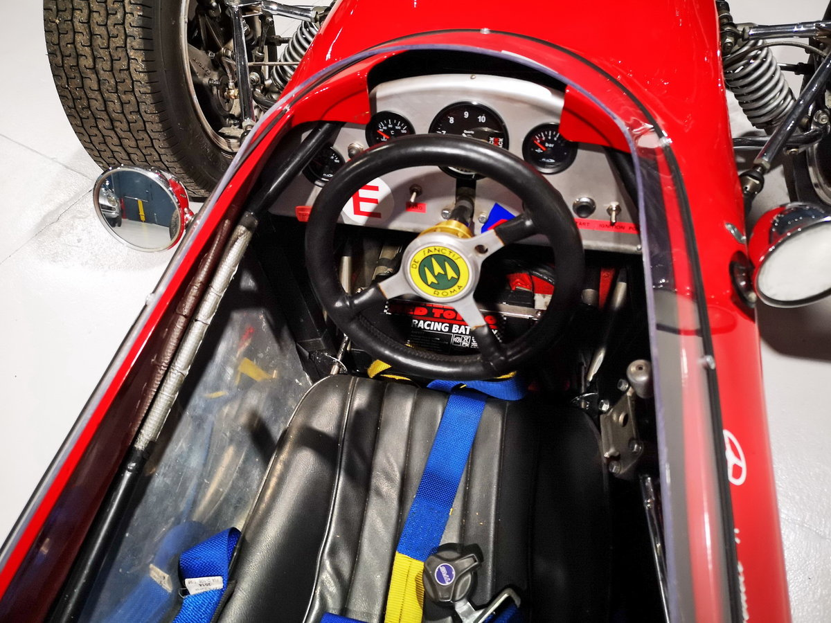 1968 DE SANCTIS FORMULA 3 chassis n. 001 euro 69800 For Sale (picture 3 of 6)