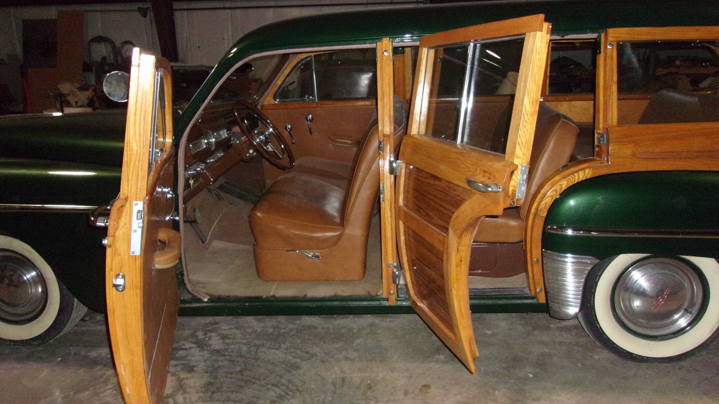 1949 DeSoto Custom Woody Wagon For Sale (picture 3 of 6)