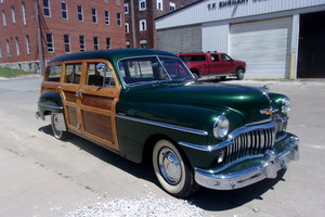 Picture of 1949 DeSoto Deluxe 9 Passenger Woody Wagon For Sale