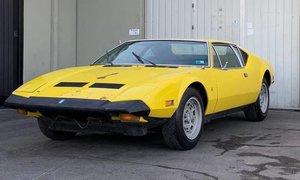 1973 De Tomaso Pantera = Project U finish Tangerine $49.5k For Sale