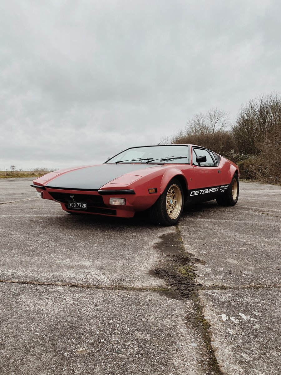 1972 DeTomaso Pantera GTS (rare European spec model) For Sale (picture 1 of 4)