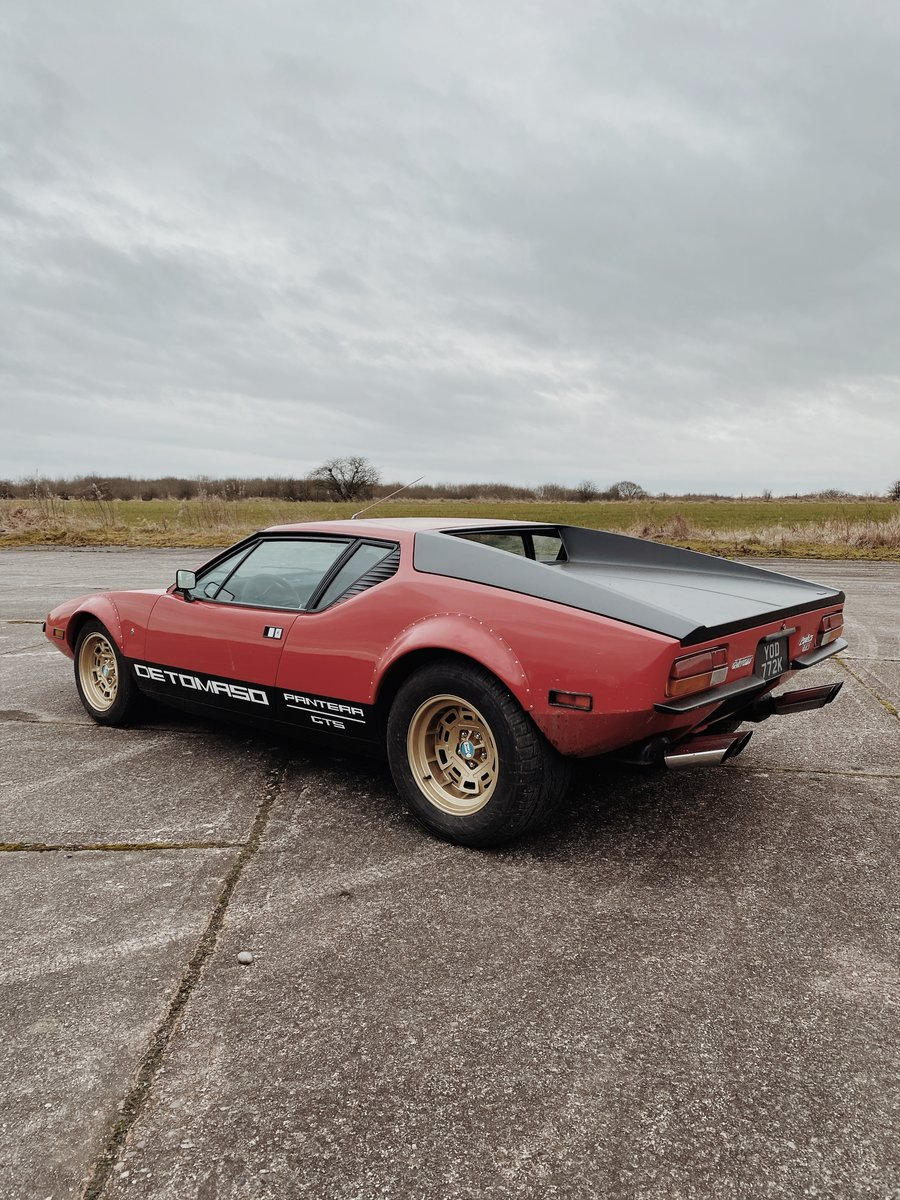 1972 DeTomaso Pantera GTS (rare European spec model) For Sale (picture 2 of 4)