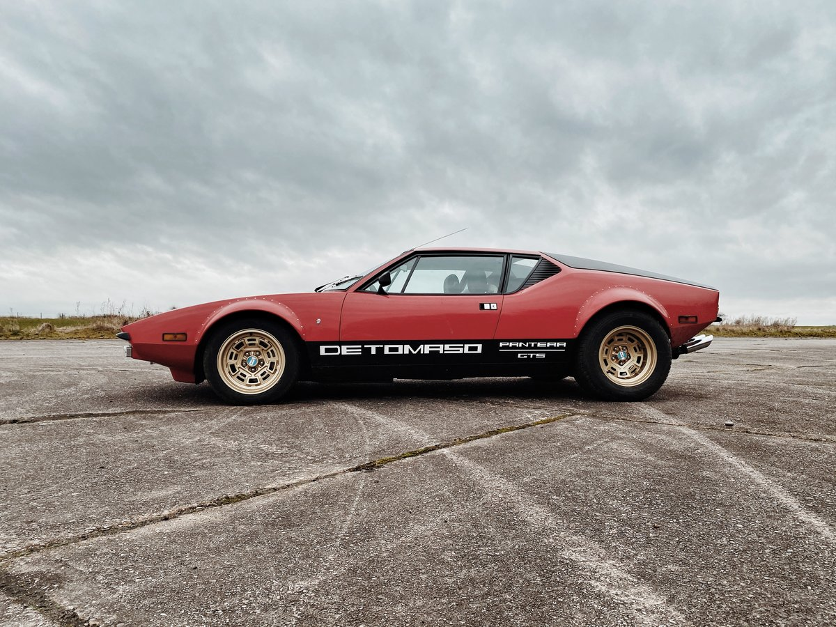 1972 DeTomaso Pantera GTS (rare European spec model) For Sale (picture 4 of 4)