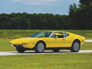 1972 De Tomaso Pantera  For Sale by Auction