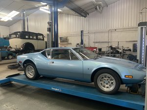 1972 De Tomaso Pantera GTS - RHD, 33k miles, incredibly rare SOLD