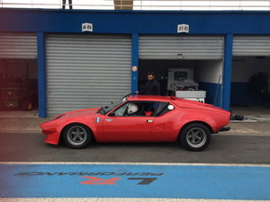 1972 DE TOMASO PANTERA GR 4 SOLD by Auction