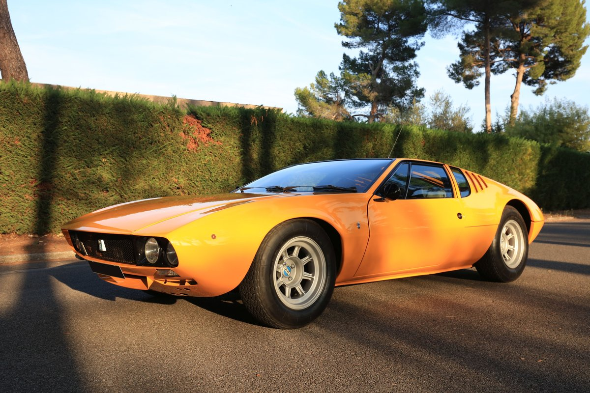 1971 De Tomaso Mangusta For Sale by Auction (picture 1 of 6)