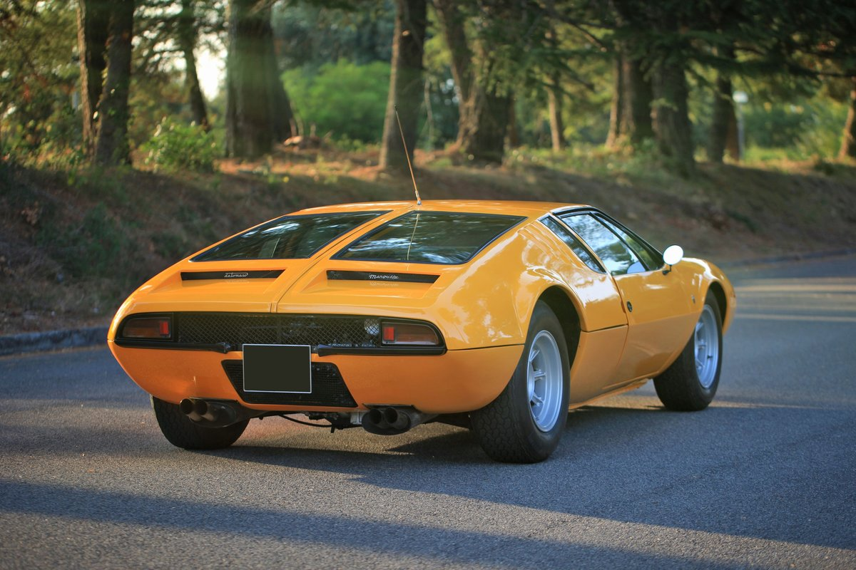 1971 De Tomaso Mangusta For Sale by Auction (picture 2 of 6)
