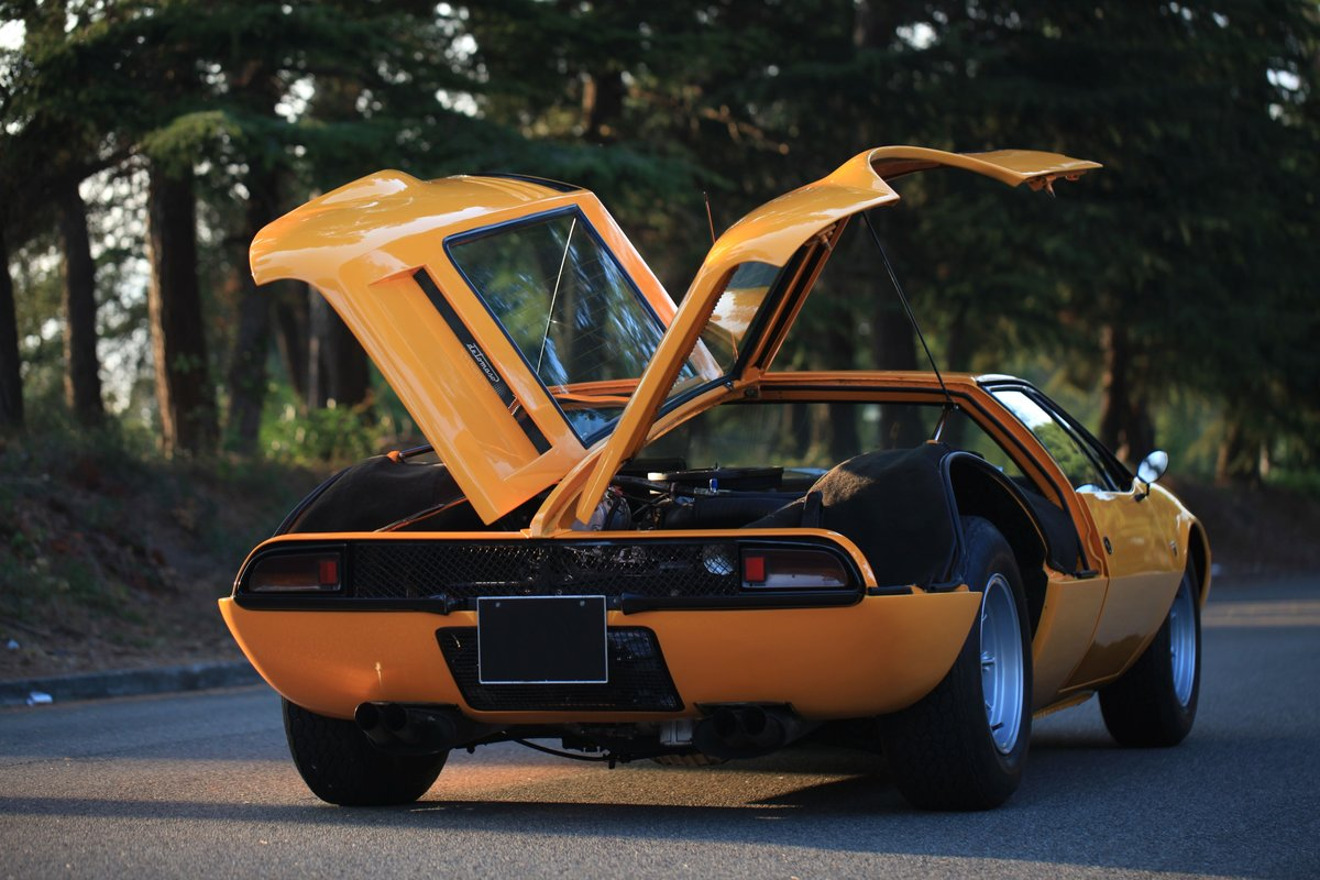 1971 De Tomaso Mangusta For Sale by Auction (picture 5 of 6)