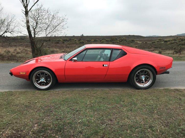 1972 De Tomaso Pantera For Sale (picture 1 of 1)