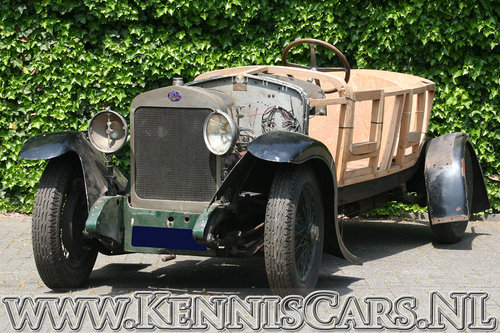 Delage 1923 DE Boattail Convertible for sale For Sale (picture 1 of 6)