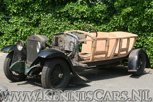 Delage 1923 DE Boattail Convertible for sale For Sale (picture 3 of 6)