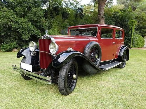 RHD - Delage Sport year 1929 - 6 cylinder For Sale (picture 3 of 6)