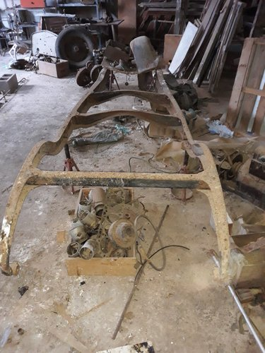 1925 Delage DI parts - frame, axle, engine parts, etc. For Sale (picture 1 of 5)