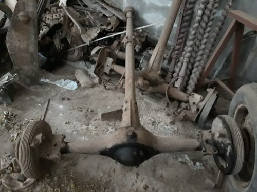 1925 Delage DI parts - frame, axle, engine parts, etc. For Sale (picture 2 of 5)