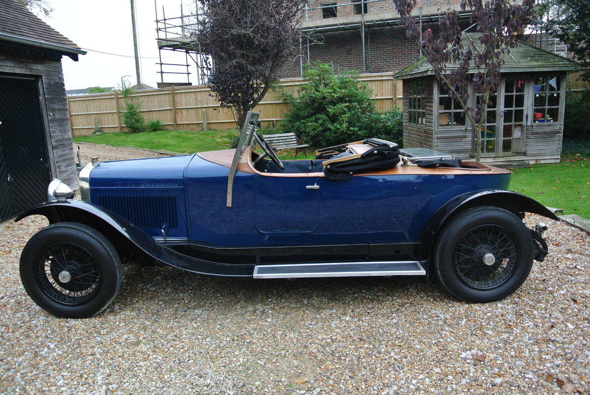 Delage 1927 Skiff Body tourer SOLD (picture 1 of 5)