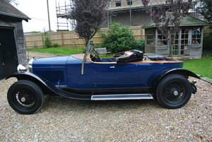 Delage 1927 Skiff Body tourer SOLD