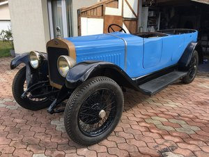 1924 Delage DI torpedo (original body) For Sale