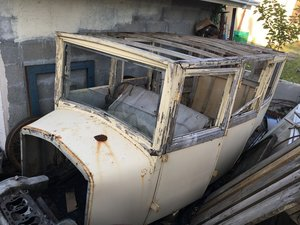 complete Sedan body for 1925 Delage DE / DI