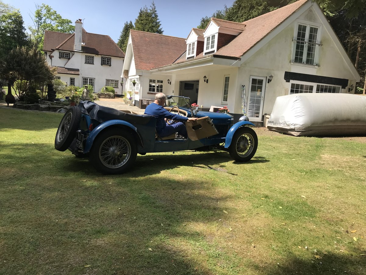 1928 DELAGE DISS SPORTS FOUR SEATER SPECIAL TOURER SOLD (picture 1 of 6)