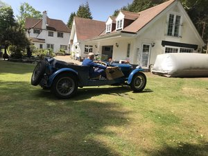 1928 DELAGE DISS SPORTS FOUR SEATER SPECIAL TOURER SOLD