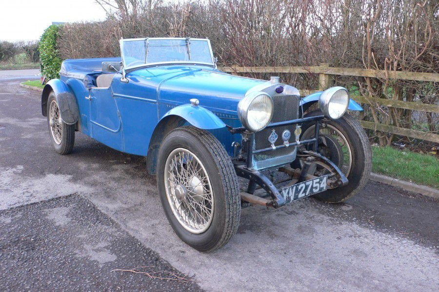 1928 DELAGE DISS SPORTS FOUR SEATER SPECIAL TOURER SOLD (picture 2 of 6)