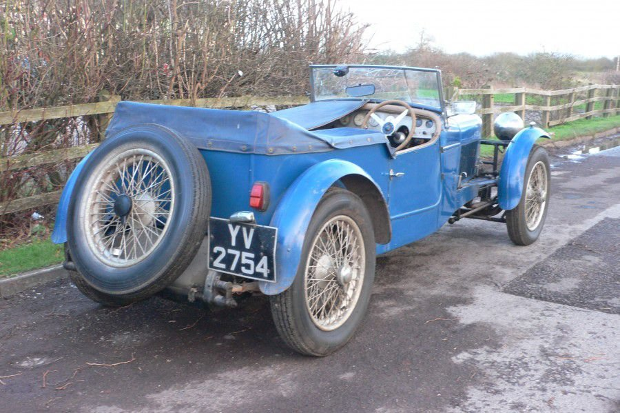 1928 DELAGE DISS SPORTS FOUR SEATER SPECIAL TOURER SOLD (picture 4 of 6)