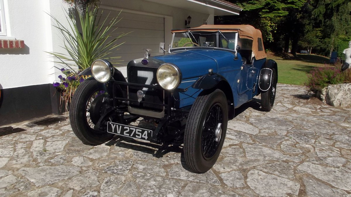1928 DELAGE DIS SPORTS FOUR SEATER SPECIAL TOURER SOLD (picture 1 of 6)