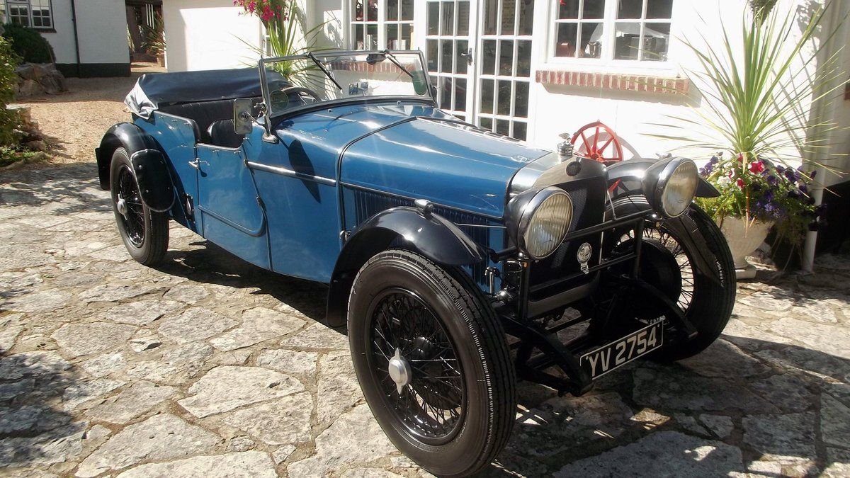 1928 DELAGE DIS SPORTS FOUR SEATER SPECIAL TOURER SOLD (picture 2 of 6)