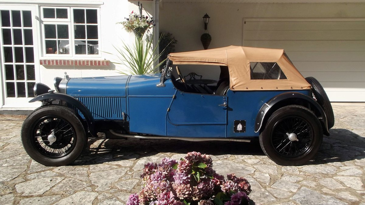 1928 DELAGE DIS SPORTS FOUR SEATER SPECIAL TOURER SOLD (picture 3 of 6)