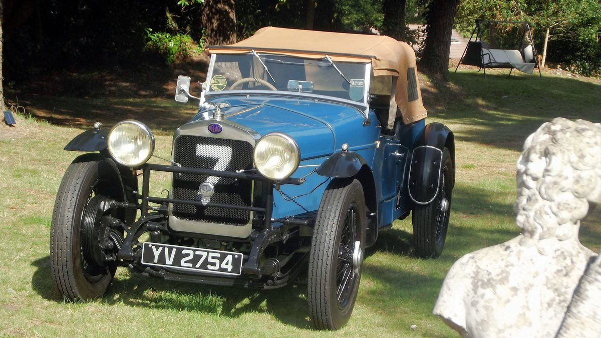 1928 DELAGE DIS SPORTS FOUR SEATER SPECIAL TOURER SOLD (picture 6 of 6)